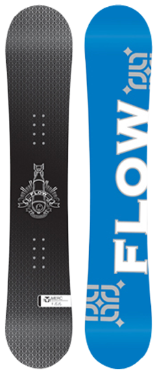 Flow Merc Snowboard, 2009 CrazySnowBoarder Review